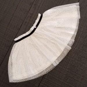 NWT Toddler's White Tulle Skirt